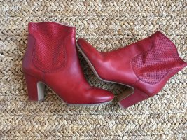 Bruno Premi Ankle Boots dark red-carmine leather