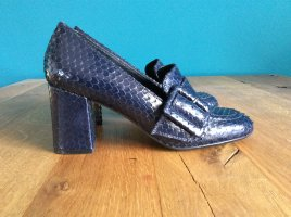 Bruno Premi Pumps dark blue leather