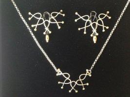 Catena d'argento oro-argento Oro