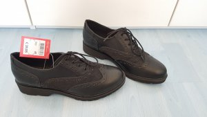 Young Spirit Wingtip Shoes black