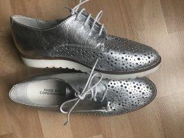 Shoe Biz Copenhagen Lace Shoes silver-colored