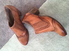 Bonita Wingtip Shoes cognac-coloured