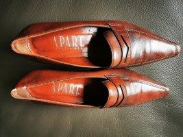 Apart Wingtip Shoes brown-cognac-coloured