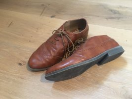 Asos Wingtip Shoes brown