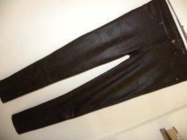 Buena Vista Drainpipe Trousers dark brown polyester