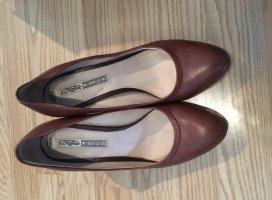 Buffallo Pumps braun, Gr. 38 leder