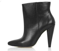Buffalo Ankle Boots   Leder   schwarz