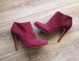Buffalo Ankle Boots - lila bordeaux