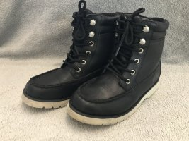 Buffalo Buskins black leather