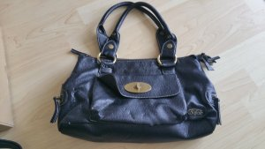Buffalo Handtasche Henkeltasche schwarz