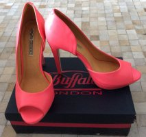 Buffalo High Heels pink leather