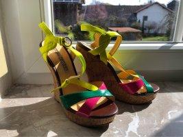 Buffalo Platform High-Heeled Sandal multicolored