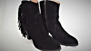 Buffalo London Cowboy-Boot  Leder Schwarz