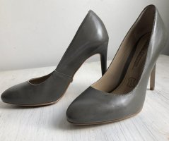 Buffalo London / graue Pumps - weiches Leder!