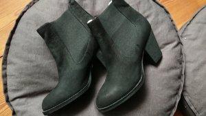Buffalo London Leather Chelsea Boots, Schwarz , 37 EU