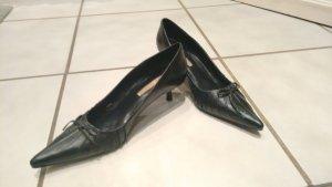 Buffalo London Stiletto noir cuir