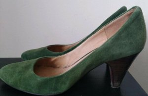 Buffalo London Suede Pumps grün 38