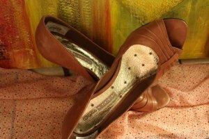Buffalo London Wysokie obcasy brązowy-jasnobrązowy