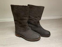 Buffalo Botte courte brun foncé