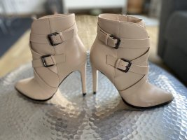 Buffalo Booties gold-colored-cream leather