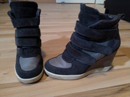 Buffalo Wedge Sneaker grey-anthracite