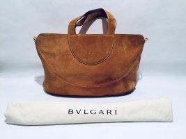 Bulgari Carry Bag light brown suede