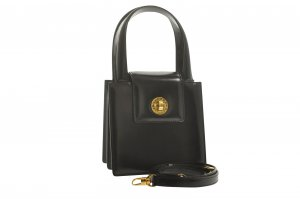 Bulgari Handbag black leather