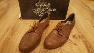 Bullboxer Low Shoes light brown-brown