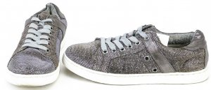 Bullboxer Lace-Up Sneaker silver-colored