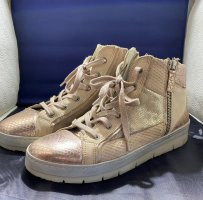 Bullboxer Lace-Up Sneaker rose-gold-coloured