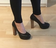 Bullboxer trendy Blockabsatz Pumps Gr. 39