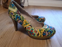 Tamaris Platform Pumps multicolored