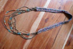 Bunte Perlenkette Zara Ethno Hippie Style