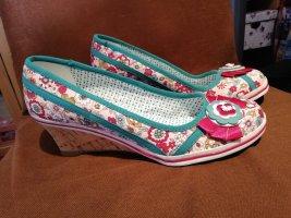 Deichmann Zapatos de cuña multicolor