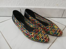 Zapatos formales sin cordones multicolor