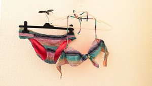 Bunter Bikini von Victoria's Secret, Gr. 36