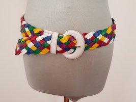 Dolce & Gabbana Braided Belt multicolored