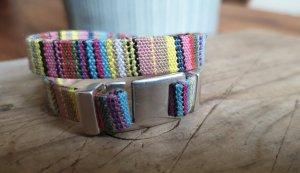 Handmade Bracelet multicolore coton