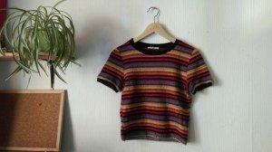 Zara Trafaluc Crochet Shirt multicolored