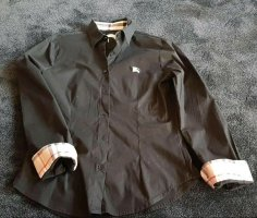 Burberry Long Sleeve Blouse black