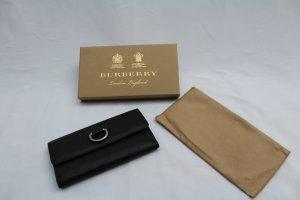 BURBERRY Damen Geldbörse Portemonnaie D-Ring Leder Continental Wallet 100% NEU