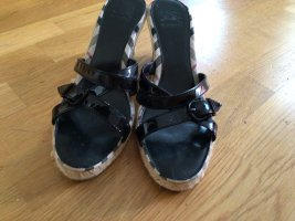 Burberry Espadrille Sandals black