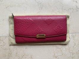 Burberry Wallet magenta-pink