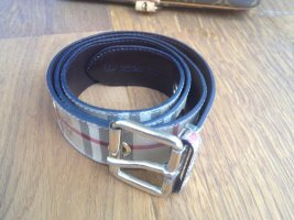 Burberry Leather Belt bronze-colored leather