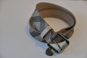 Burberry Ceinture de hanches noir-gris brun cuir