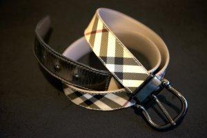 Burberry Hip Belt cream leather