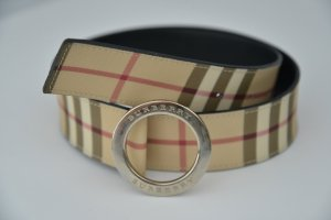 Burberry Leather Belt multicolored leather