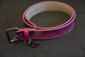 Burberry Hip Belt pink-blue violet leather