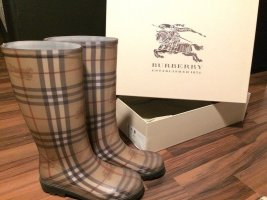 Burberry Wellies multicolored synthetic material