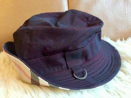 Burberry Sombrero de cubo violeta amarronado